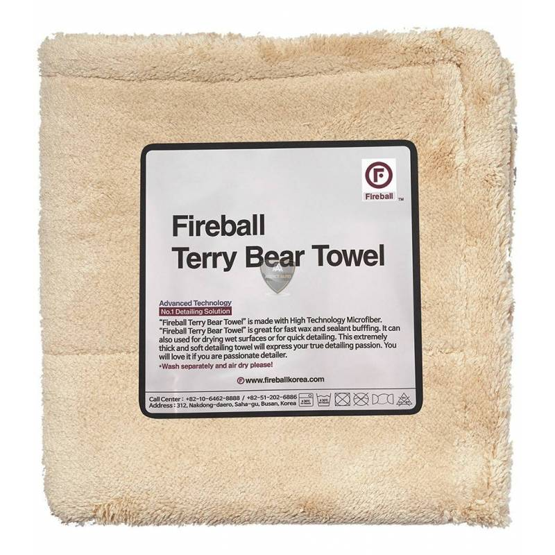 TERRY BEAR TOWEL 40x40