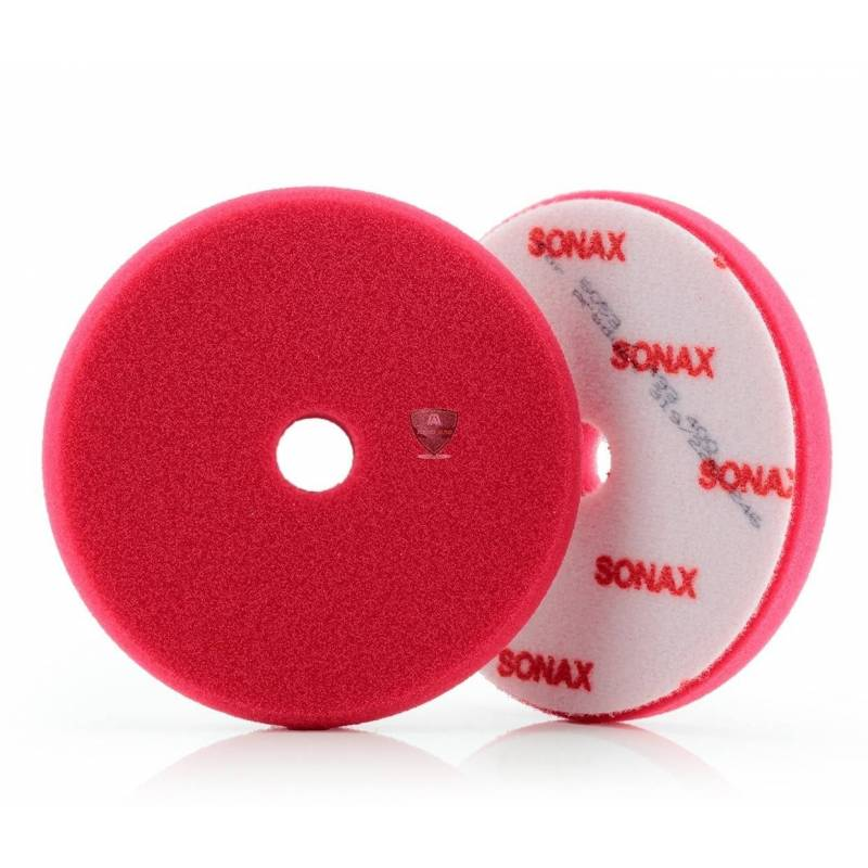 DUAL ACTION CUTTING PAD RED 143mm