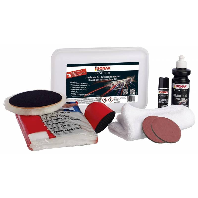 PROFILINE HEADLIGHT RESTORATION KIT