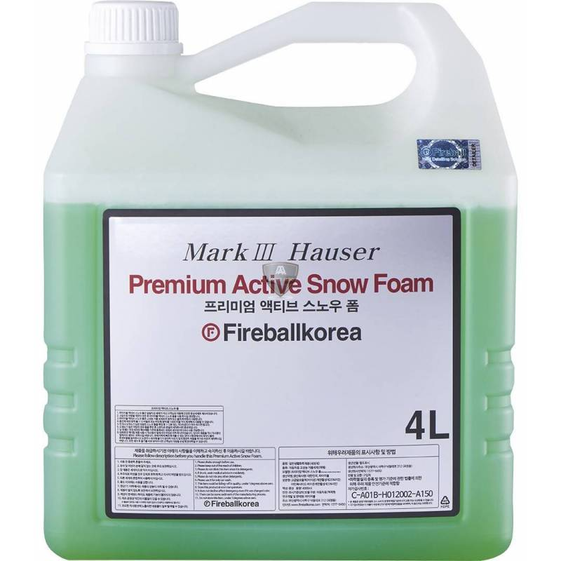 PREMIUM ACTIVE SNOW FOAM RED