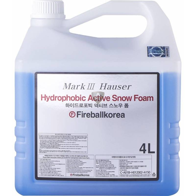 ULTIMATE HYDROPHOBIC FOAM 4L
