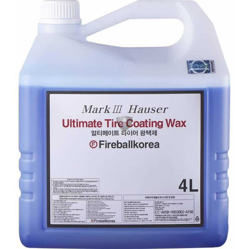 ULTIMATE TIRE COATING WAX BLUE (brillant) 4L
