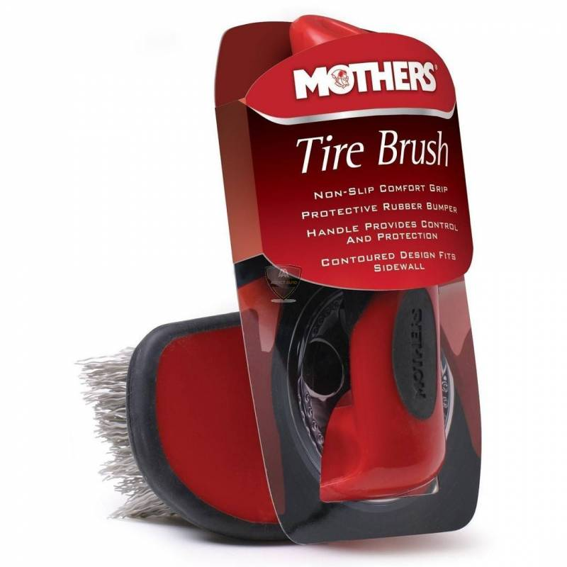 CONTOURED TIRE BRUSH