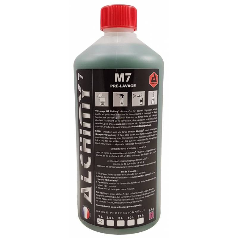 M7 (prélavage et lavage hard)