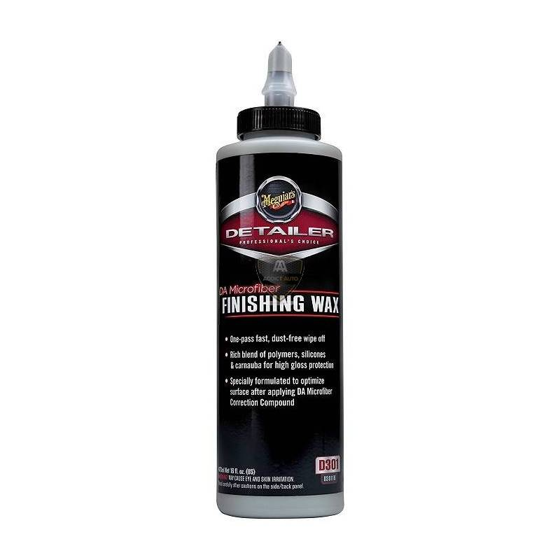 DA MICROFIBER FINISHING WAX 473ml