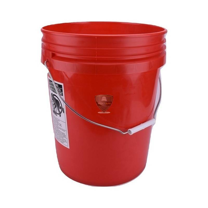 GRIT GUARD BUCKET 18,9L RED