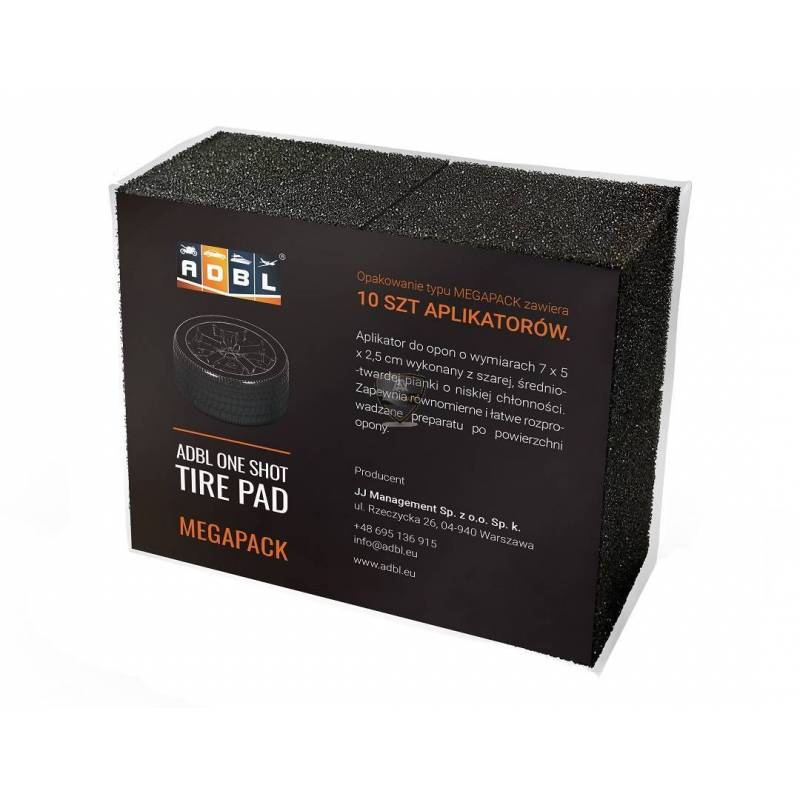 ONE SHOT TIRE PAD MEGAPACK (x10)